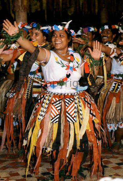 Local people at cultural event in Tuvalu, South Pacific - Photo by Tim Graham