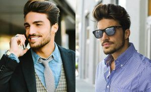 1000 ideas about pompadour on pinterest man bun popular mens hairstyles and trendy haircuts. Black Bedroom Furniture Sets. Home Design Ideas