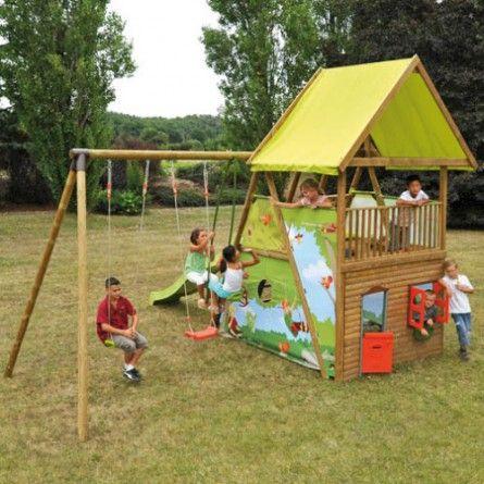 Une chouette aire de jeux pour les enfantts !