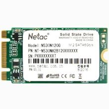 Netac N530N 120GB NGFF(M.2) 42mm SATA 6Gbps High Speed Digital Flash SSD Internal Solid State Drive TLC