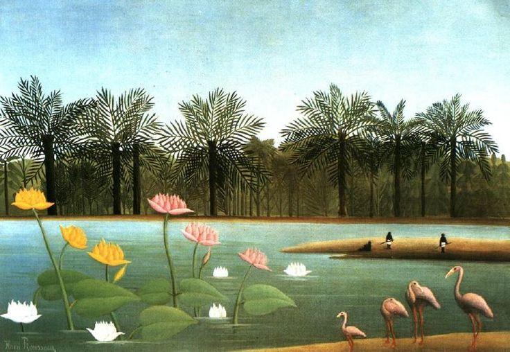 Artist Inspiration: Henri Rousseau – Art Primitivism/Folk Art