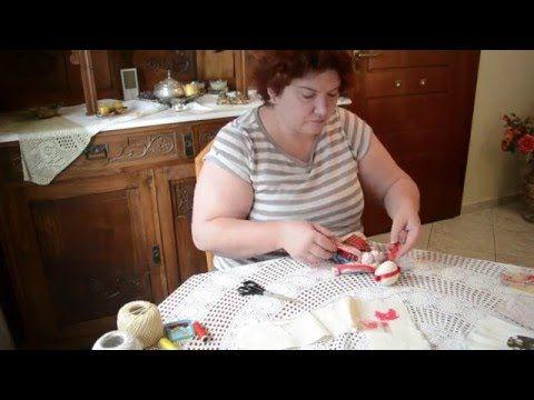 Кукла-мотанка мастер-класс. Часть 6. Головной убор - Ukrainian traditional handmade doll Motanka - YouTube