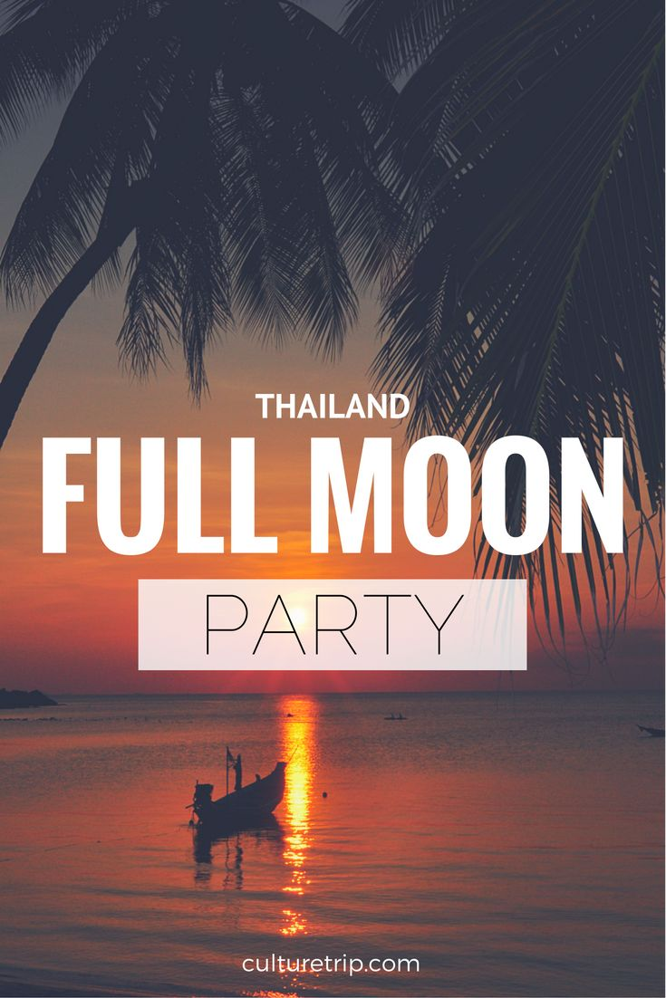 The Lowdown On Thailand's Full Moon Party In 1 Minute // © Davidlohr Bueso // Creative Commons