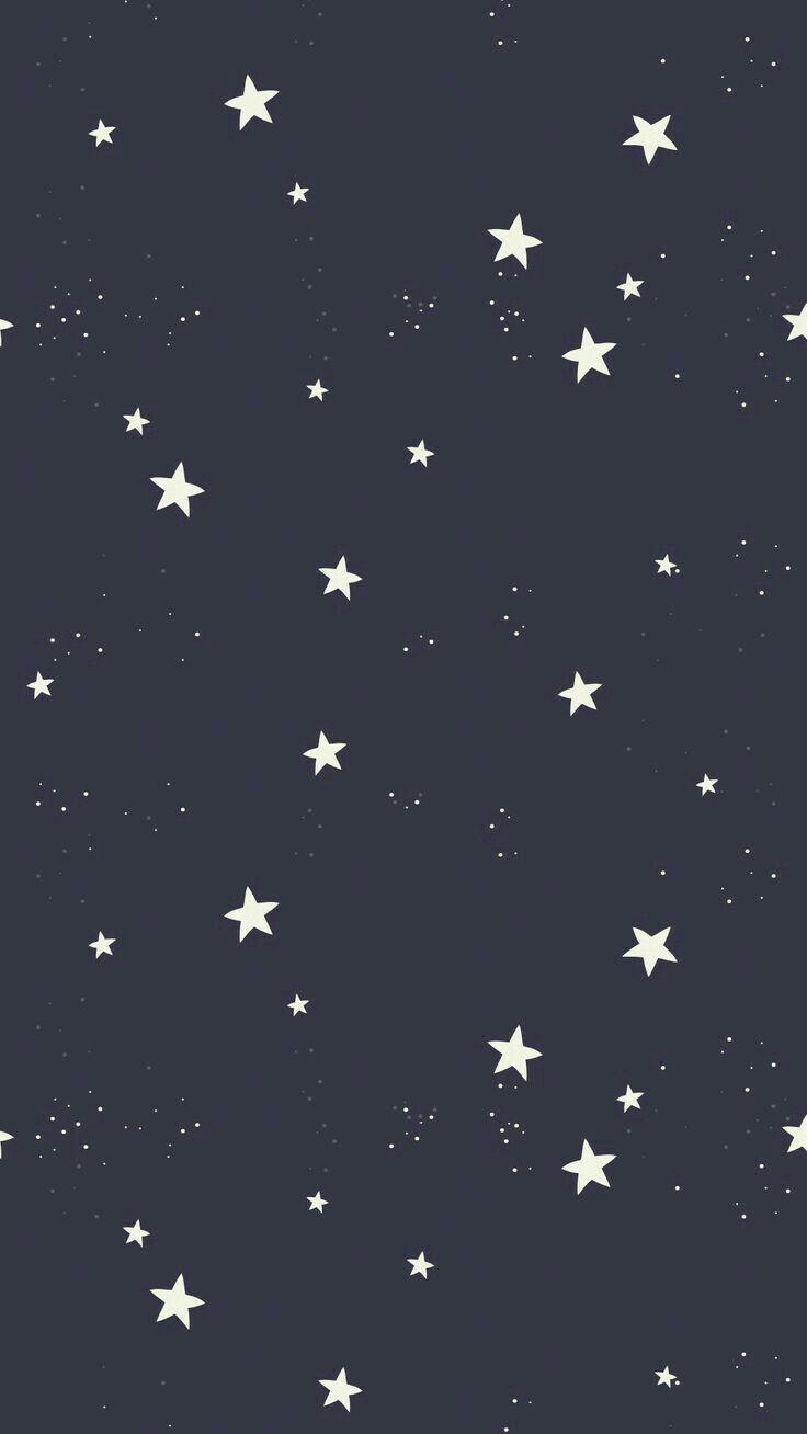 black, white, star, cool, sky, wallpaper, iphone, phone, beatiful, night, dark