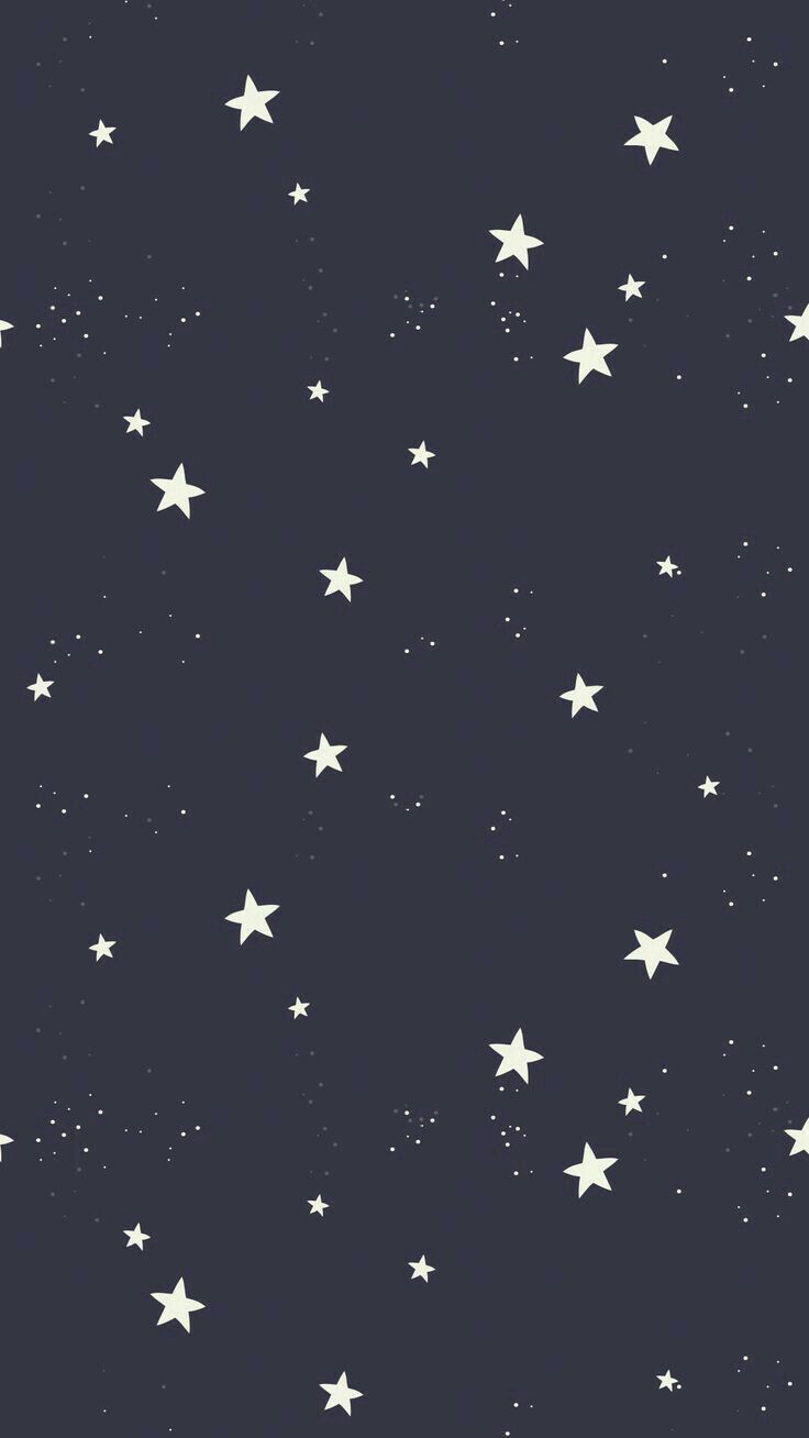 black, white, star, cool, sky, wallpaper, iphone, phone, beatiful, night, dark