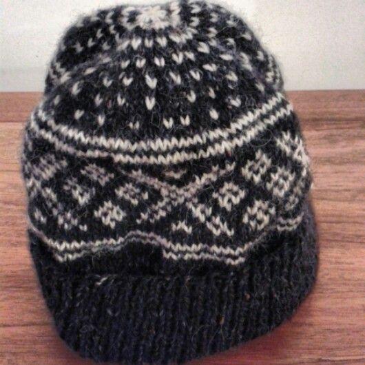 Blue Setesdal Hat