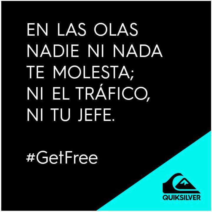 ¡Siéntete libre! #ActitudQuik #Quiksilver #Colombia