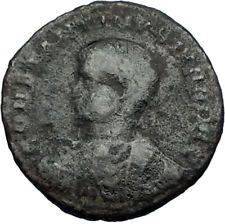 CONSTANTINE II Constantine the Great son Ancient Roman Coin Camp Gate i65711