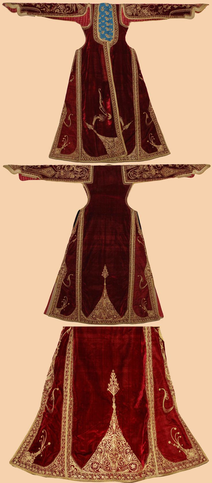 Antique Ottoman Costume