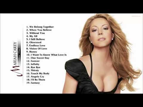 Mariah Carey Greatest Hits - Best Songs Of Mariah Carey (HD/HQ) - YouTube