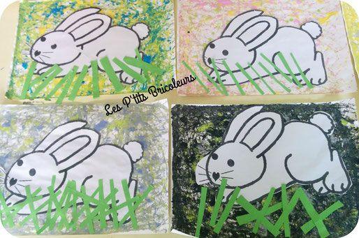 Les 119 meilleures images propos de lapin sur pinterest - Mon petit lapin s est cache dans le jardin paroles ...