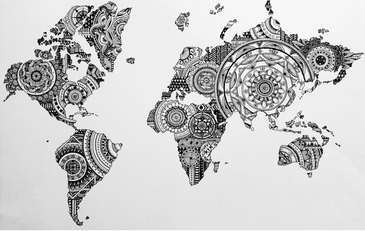 Zentangle world #concepcionallamand #Concepcion #Allamand