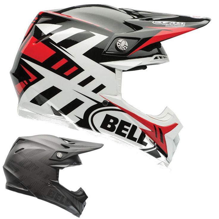Bell Powersports Moto-9 Carbon Flex Off Road Dirt Syndrome Motocross Helmets