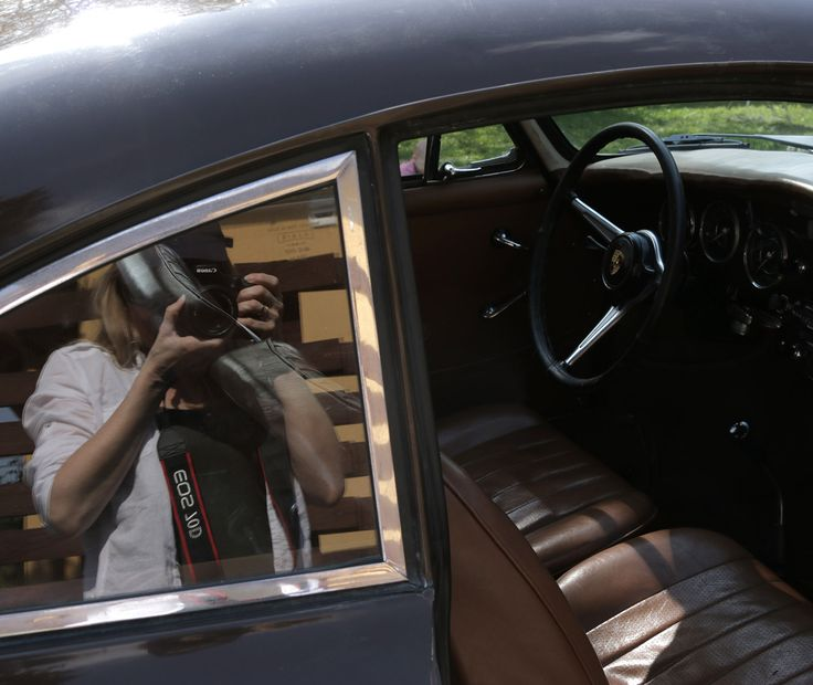 356 Porsche Mirror