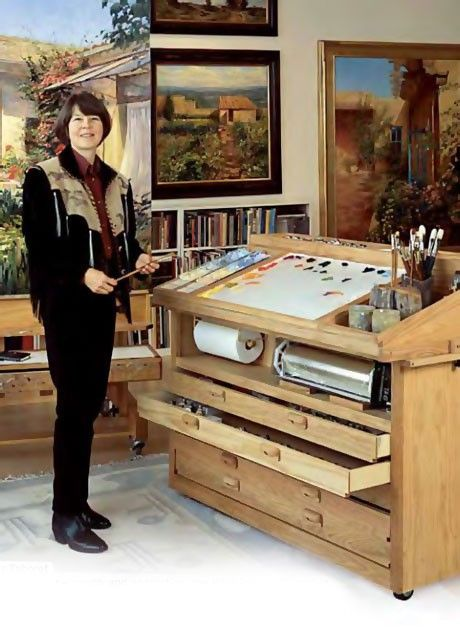 Amazing Taboret:  Kate Palmer Taboret - Cheap Joe's Art Stuff
