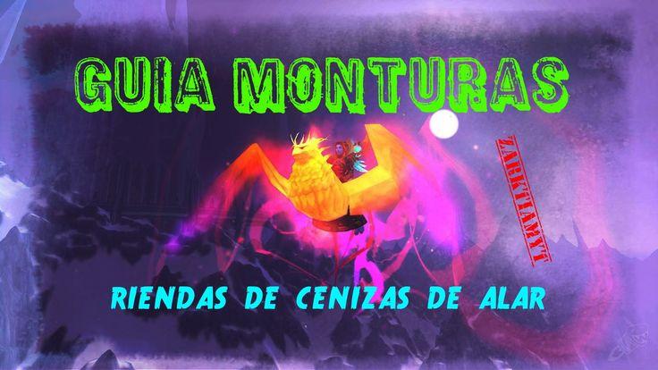Castillo de la tempestad// guia monturas// riendas de cenizas de al´ar//...