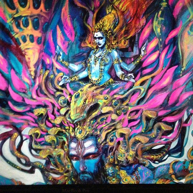 """Like the night you cradle me into my dreams, like the day you wake me into the light of my being"" Happy Woman's day to all out there. #mythology#art#painting#shiva#shakti#yoga#yogic#meditation#nature#love#woman's day#cosmic#spiritual#quantum#adishakti#parvati#sati#shankar#chakra#universe#metaverse#yogaverse#mind#matter#life#music"