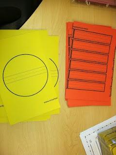 sunny synonyms - craft idea