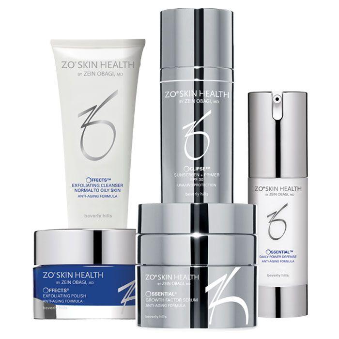 Level 2 Anti Aging Program Obagi Zo Skin Health Obagi Skin Care Skin Health Skin Cleanser Products