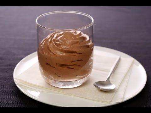 Technique de cuisine : Réaliser une mousse chocolat