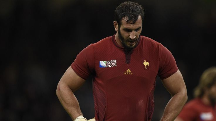 Yoann Maestri France/NZ Quart de finale RWC 2015