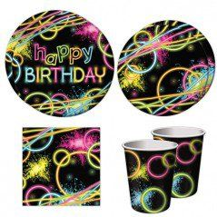 Glow Party Standard Party Packs (For 16 Guests)