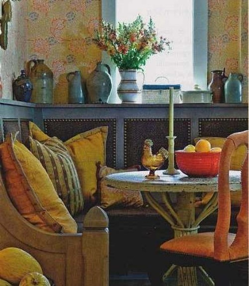Painted Family Kitchen With Dining Nook: 263 Best French Country Decor Images On Pinterest