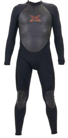 4/3mm L/S TITANIUM 3D COMBO MEGA-STRETCH SEALED SEAM STEAMER WETSUIT | triple-x-wetsuits