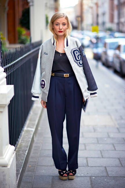 London Street Style 2012 - London Fashion Week Spring 2013 Style - ELLE