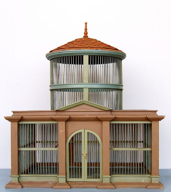 Antique Birdcage by joythorpe