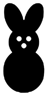 Vinyl Easter Peep Bunny Vinyl Expressions 4 U