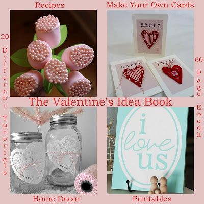 free vday crafts e-book (will it be free when I get around to actually looking at it? we'll see.)