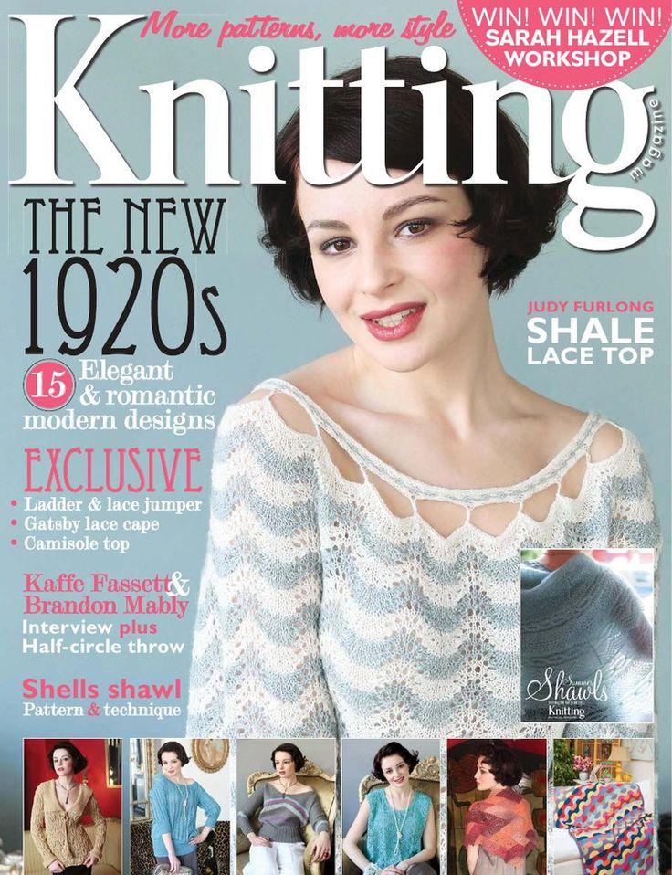 Knitting Magazine Cover : Knitting issue