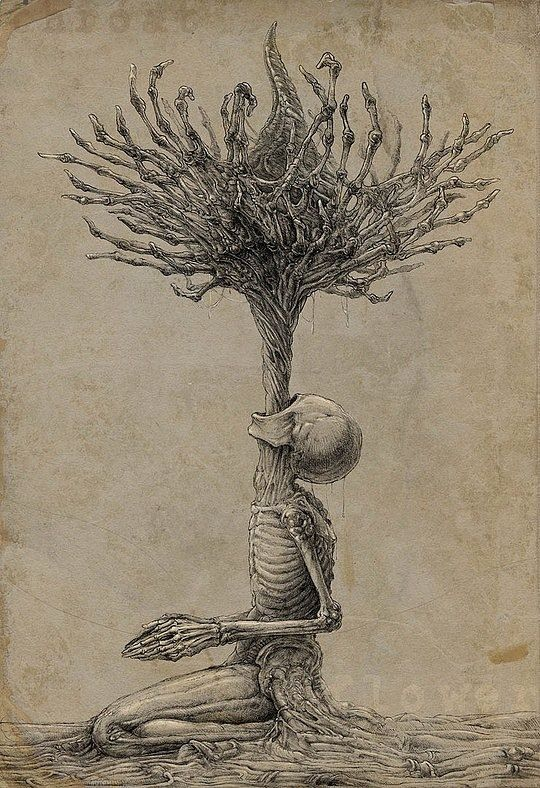 Out of death comes life is what I see here