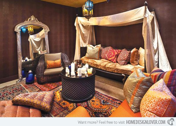 Captivating 15 Outstanding Moroccan Living Room Designs