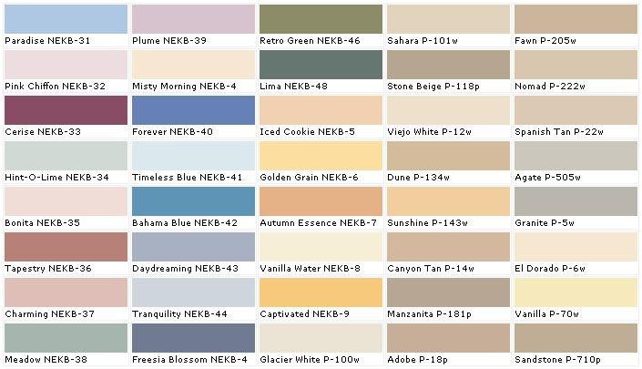Lowes Paint Colors Chart Heartpulsar