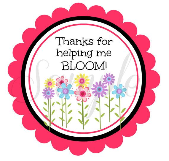 Thanks For Helping Me Grow Quotes: INSTANT Download End Of School Year Thanks For Helping Me