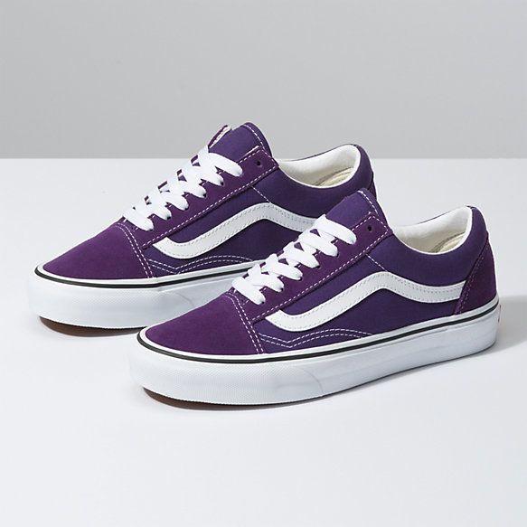 Vans shoes women, Purple vans