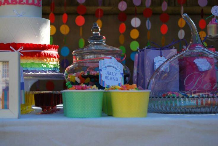 rainbow popcorn for more party ideas visit www.littlepartylove.com.au