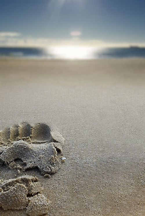 footprints in the sand... www.facebook.com/loveswish