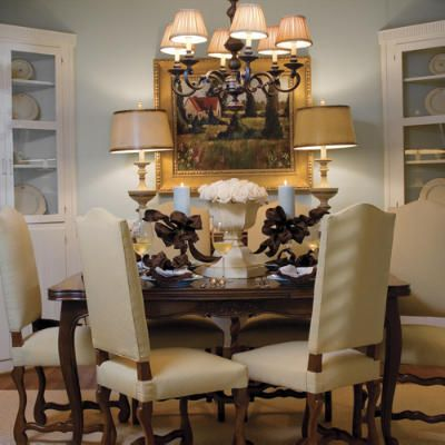 17 best ideas about dining table centerpieces on pinterest for Dining room table design ideas