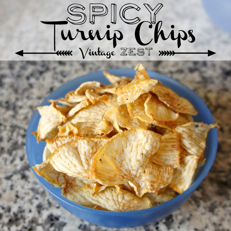 Spicy Turnip Chips in Dehydrator at Diane's Vintage Zest!  #recipe #easy…