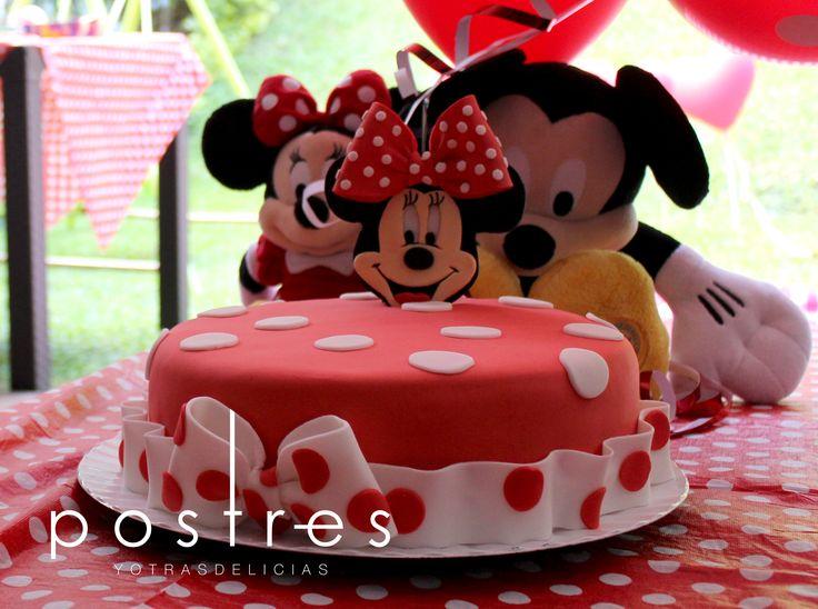 Torta de Minnie #tortademinnie #tortastematicas #postresyotrasdelicias