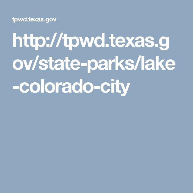 http://tpwd.texas.gov/state-parks/lake-colorado-city