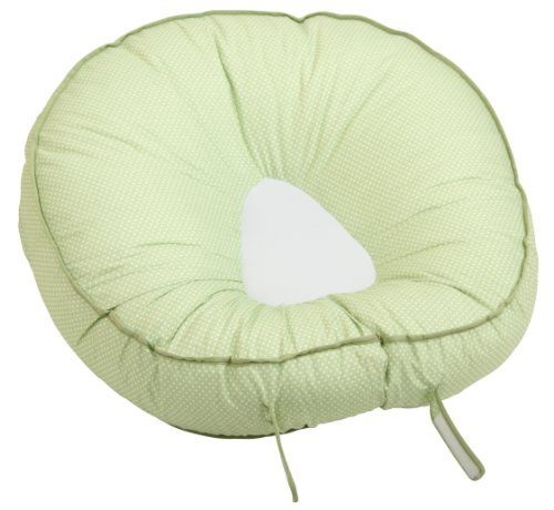 Found on Amazon & comes in different colors. Leachco Podster Sling-Style Infant Seat Lounger, Sage Pin Dot Leachco http://smile.amazon.com/dp/B003HIXOTQ/ref=cm_sw_r_pi_dp_zh8Yvb0RA78G0