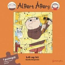 Albert Åberg - Lek og les av Gunilla Bergström (Innbundet)