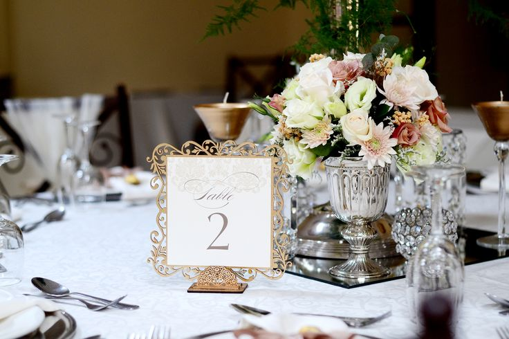 Dilightful flowers and Ruby Moon Decor - Guest Table Arrangement