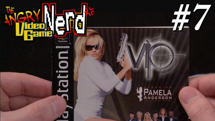 V.I.P. with Pam Anderson (PS1) - Angry Video Game Nerd - Episode 128