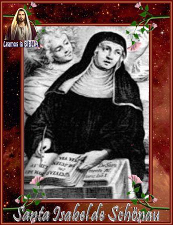 Leamos la BIBLIA: Santa Isabel de Schönau
