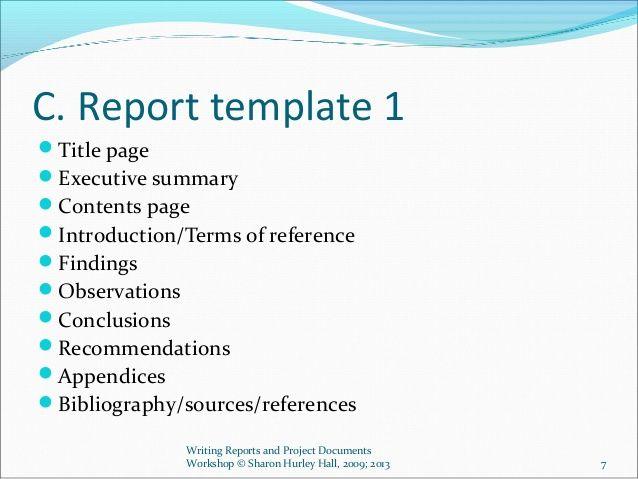 Audit Report Sample Report Writing Report Writing Template Report Sample